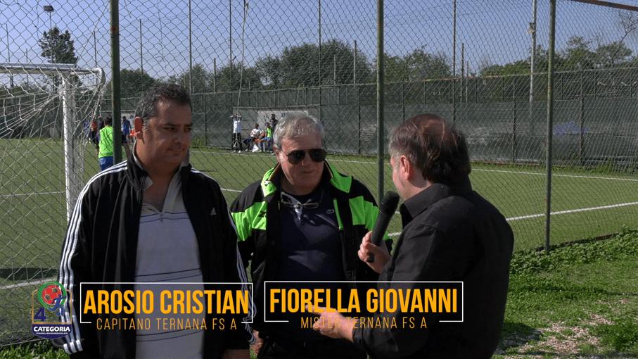 Cristian Arosio e Giovanni Fiorella (TERNANA FS A)