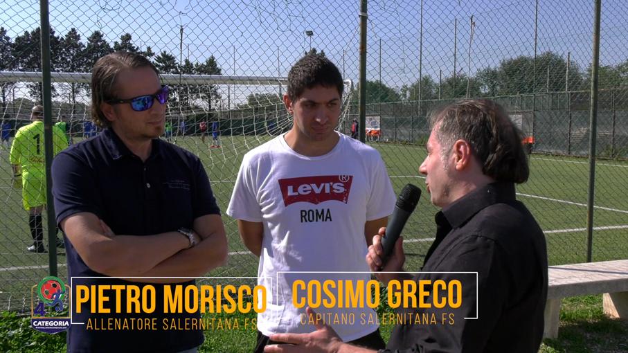 Pietro Morisco e Cosimo Greco (SALERNITANA FS)