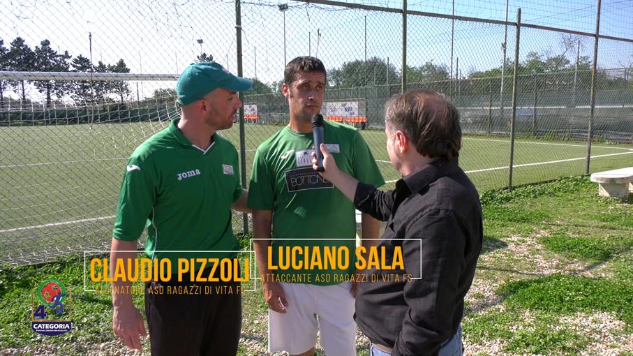 Claudio Pizzoli e Luciano Sala (ASD RAGAZZI DI VITA)