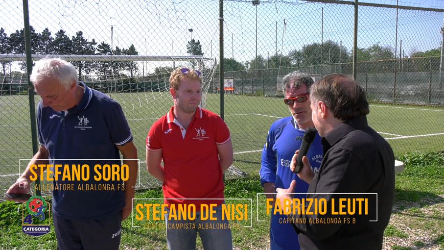 Stefano Soro, Stefano De Nisi, Fabrizio Leuti (ALBALONGA FS)