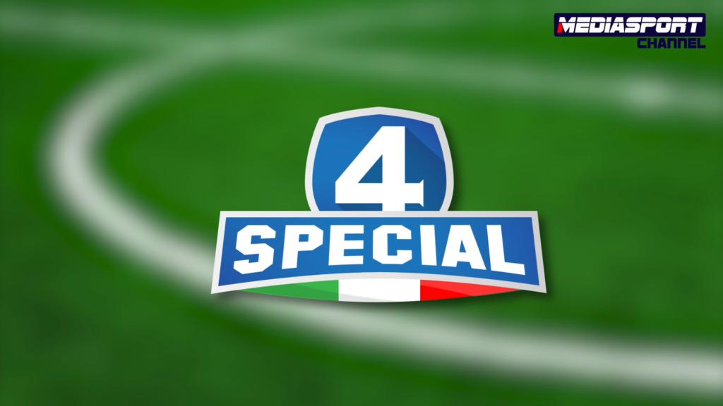 4 SPECIAL stasera su Mediasport Channel – Sky 814