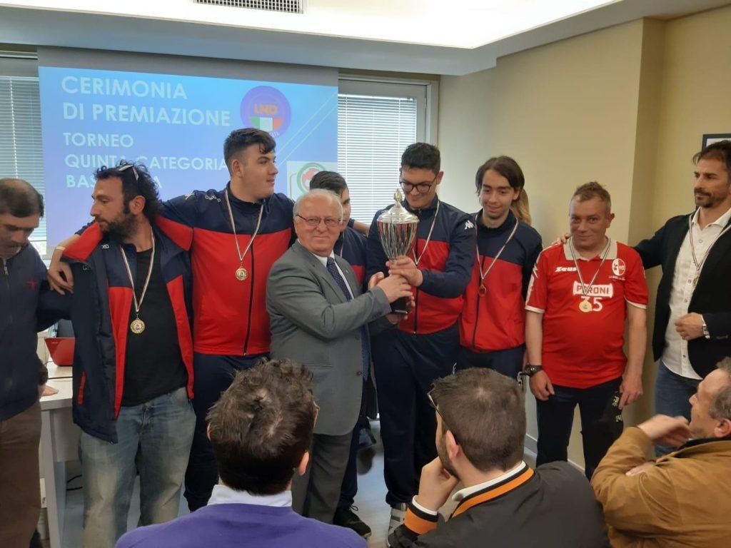Premiazioni in Basilicata