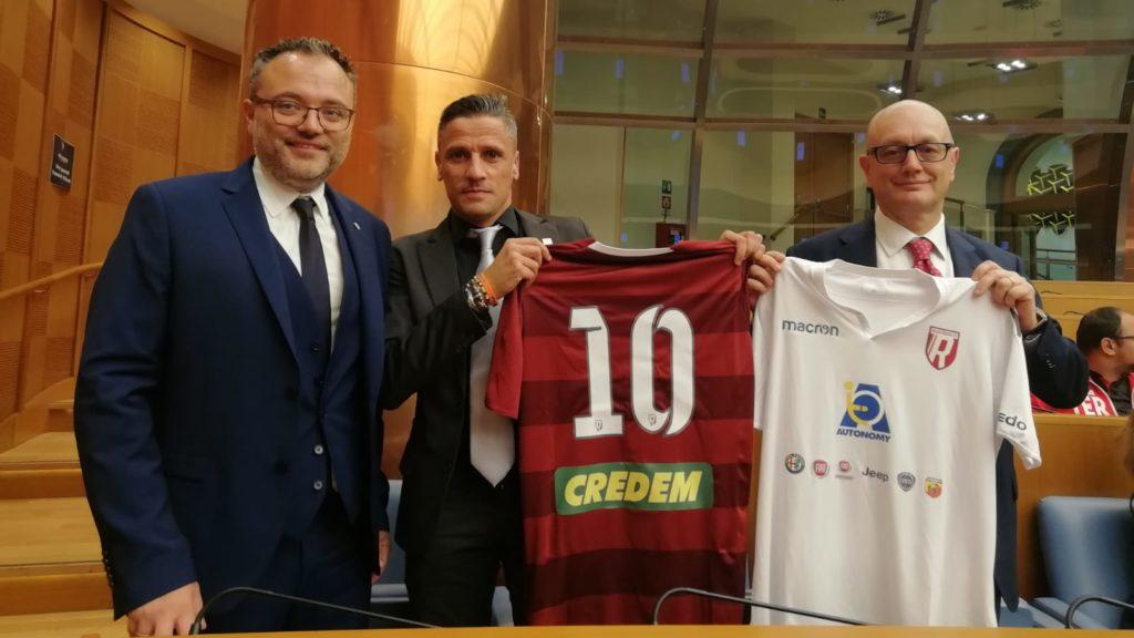 Olmedo-Reggio Audace pronti per la nuova stagione!