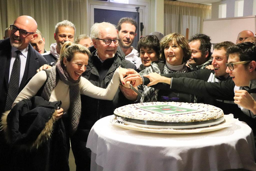 115 anni in bianconero: le immagini della festa della Robur.