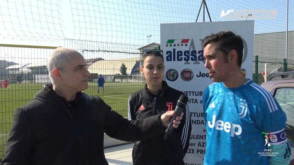 Silvia Dema – Lorenzo Molè (Juventus fs V) 15/02/2020