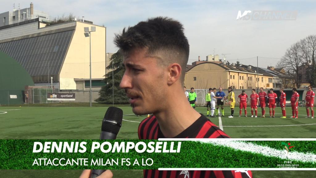 Lombardia I giornata – intervista a: Denis Pomposelli (Milan fs A)