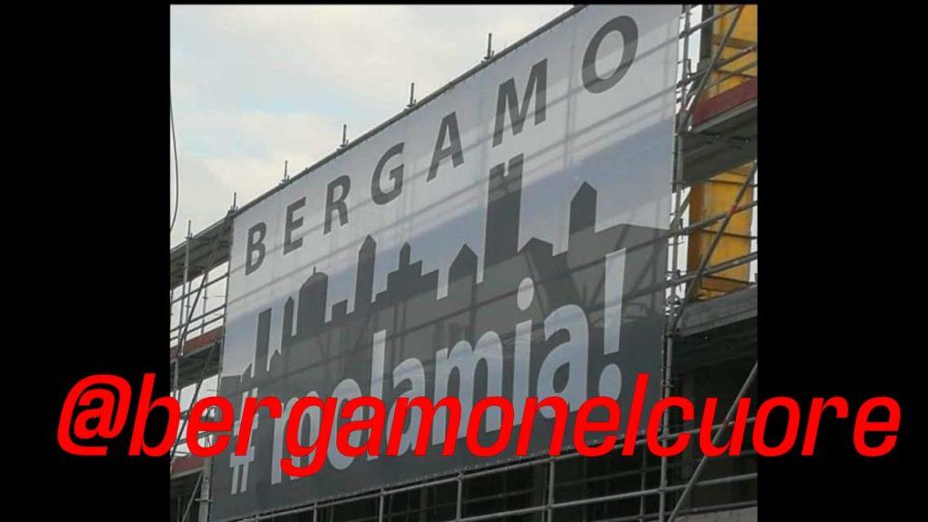 #Bergamonelcuore – tutti uniti contro il virus