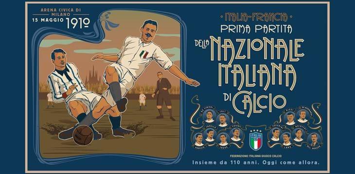 110 anni di storia gloriosa. Ora e sempre. Auguri dalla Divisione Calcio Paralimpico e Sperimentale.