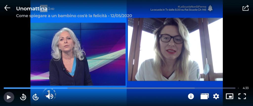 """Valentina Battistini nello spazio di """"Insieme Con…"""" su Rai 1"""