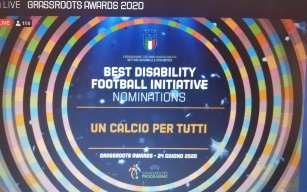 """Grassroots Awards 2020: """"Quarta Categoria"""" e """"Un Calcio Per Tutti"""" premiate sul gradino più alto del podio"""